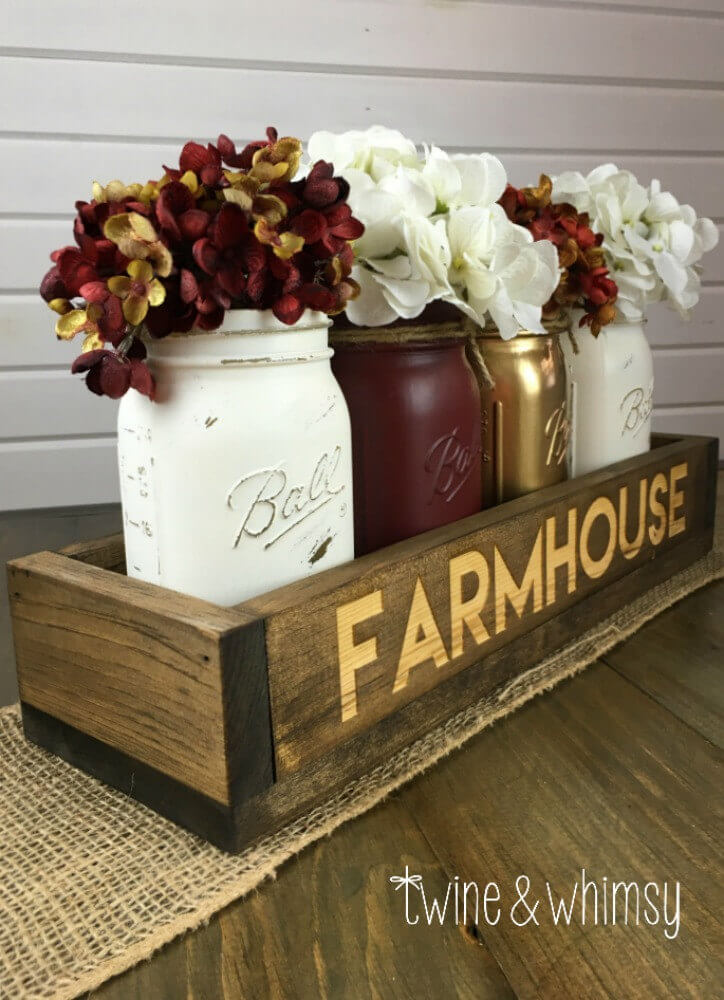 25 Best Rustic Wooden Box Centerpiece Ideas And Designs For 2020