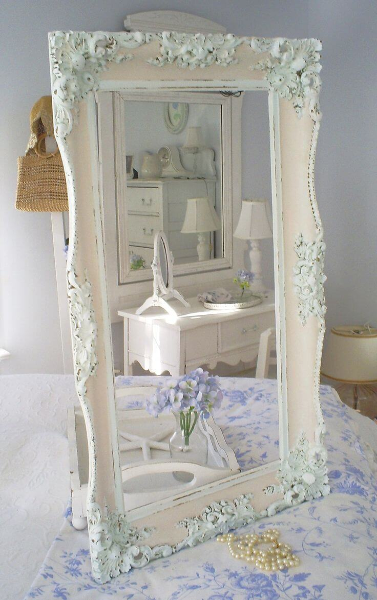 35 best shabby chic bedroom design and decor ideas for 2017 for Lampe style shabby chic