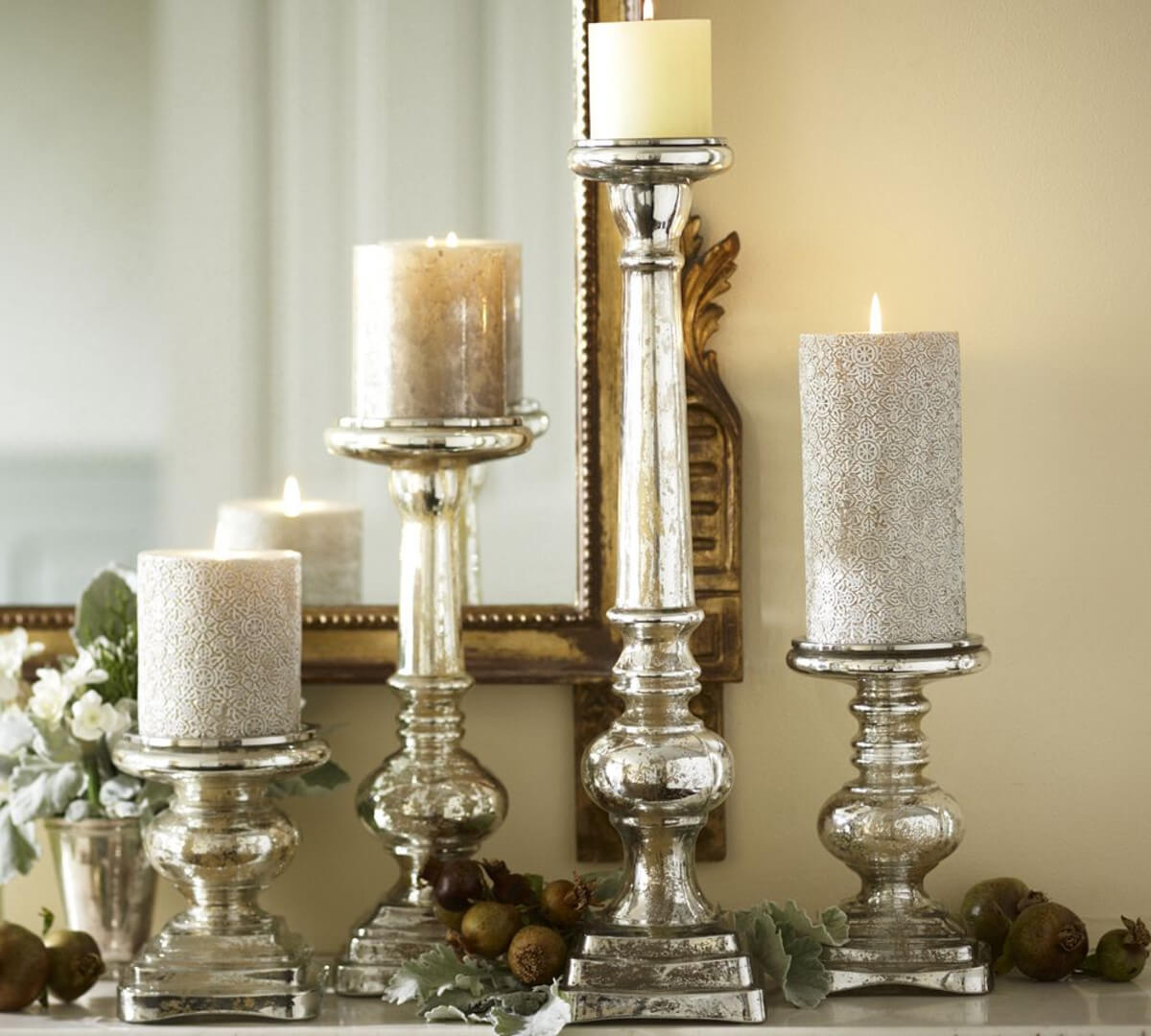 Antique Candlesticks for a Formal Look