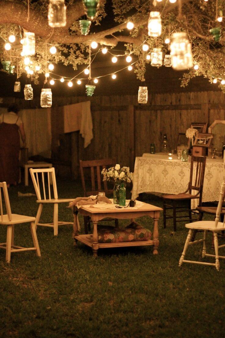 DIY Mason Jar Outdoor Lanterns