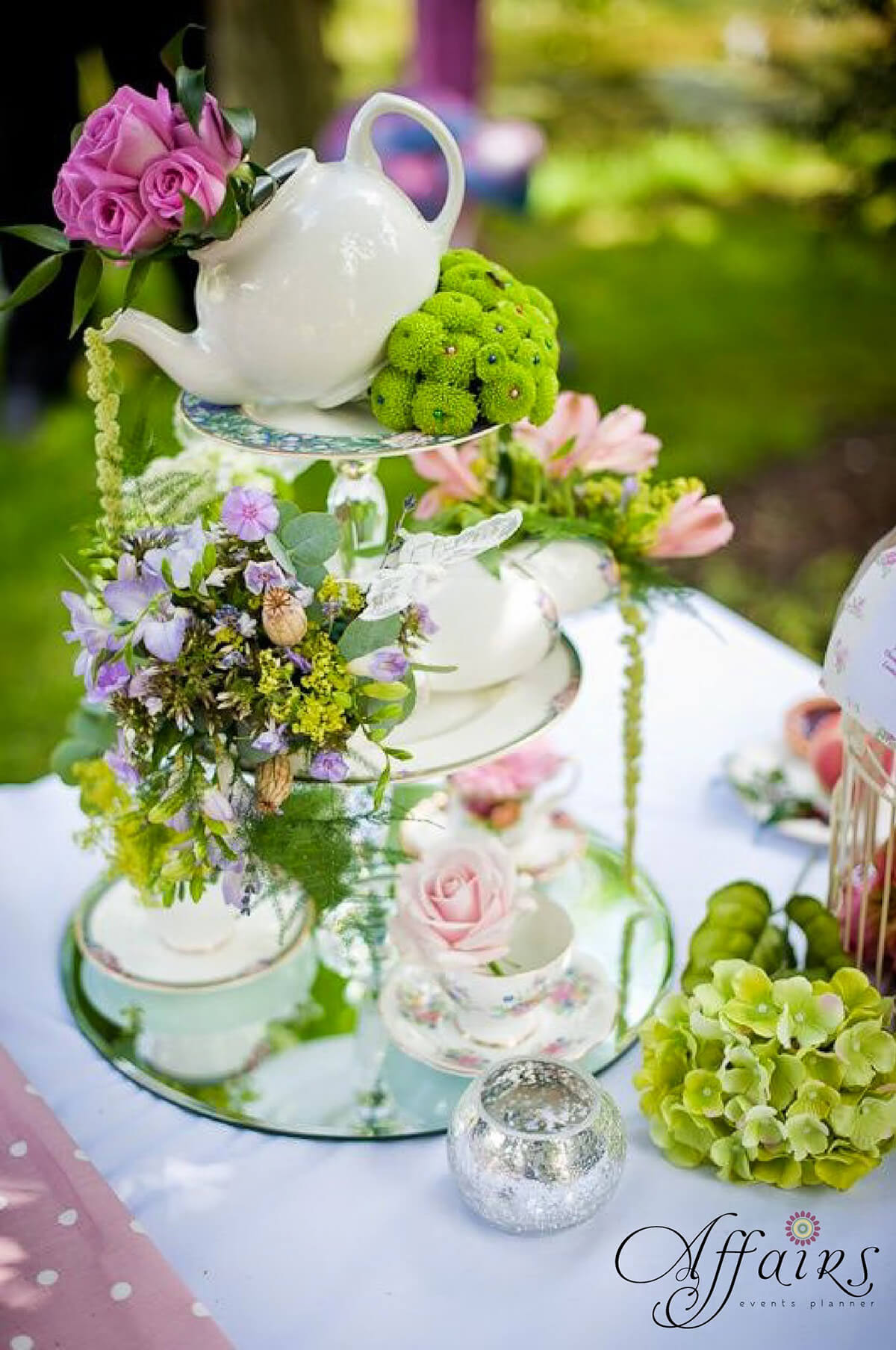 36 best flower arrangement ideas and designs for 2018 10 tipsy teapot with cascading catkins mightylinksfo
