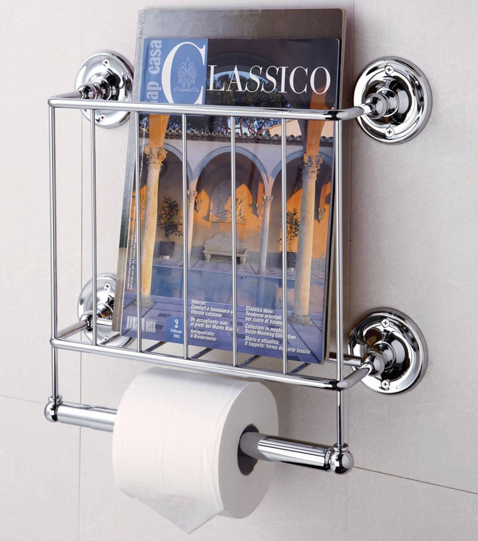 Elegant Estate Wall-Mounted Magazine Rack