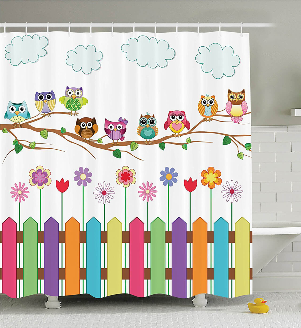 cute country owls design - Cute Shower Curtains
