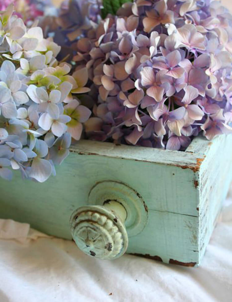 Dainty Display with a Touch of Spring