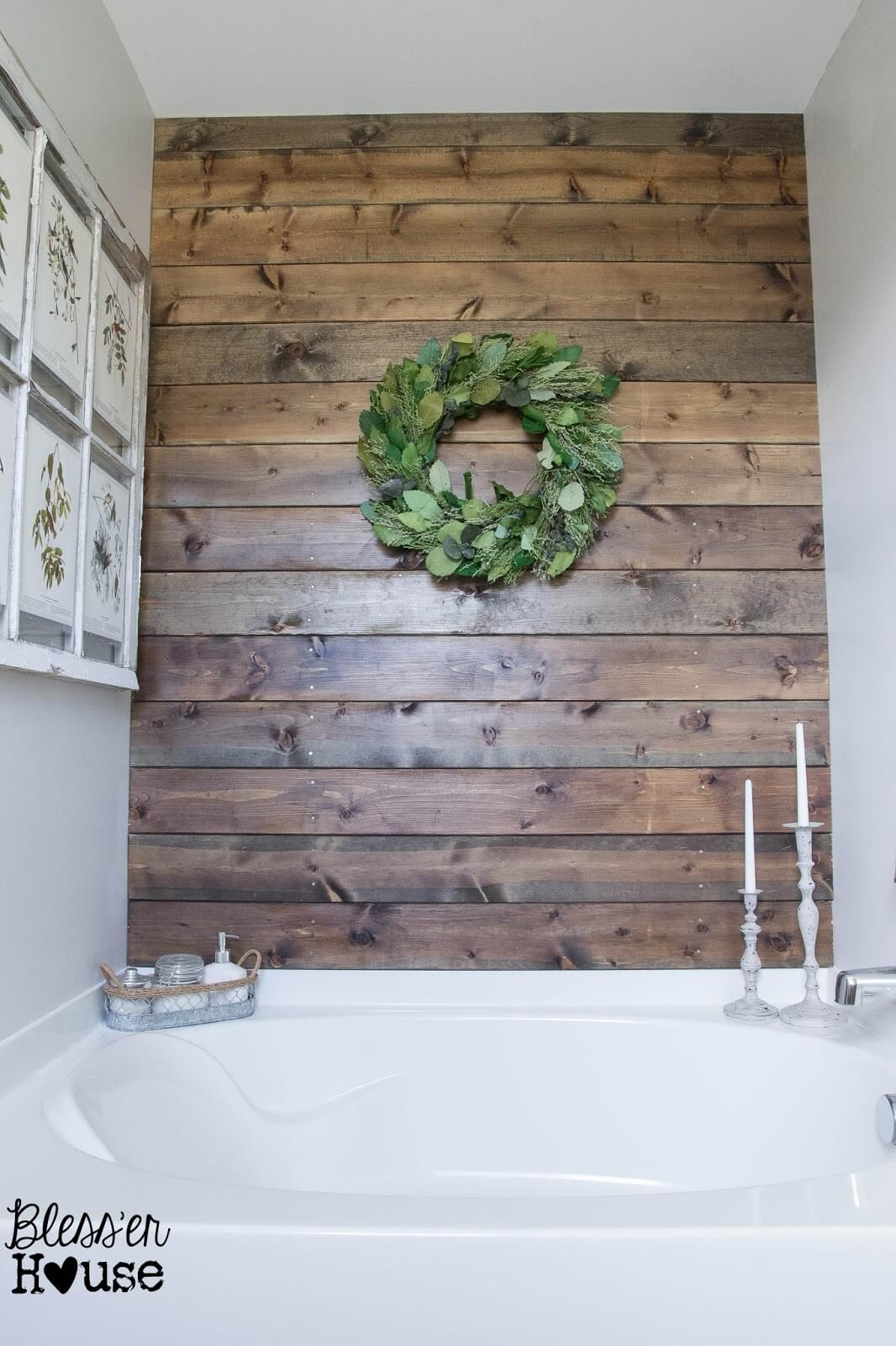 36 best farmhouse bathroom design and decor ideas for 2017 for Rustic farmhouse bathroom ideas