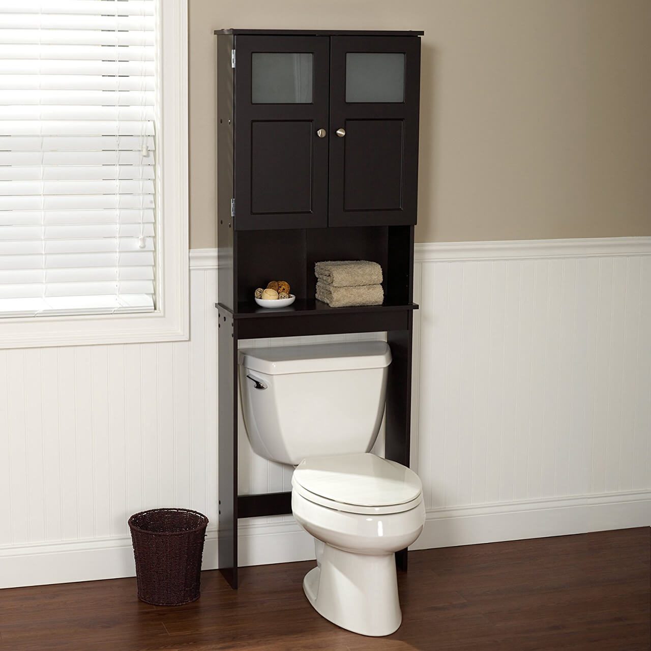 Zenna Home Bathroom Spacesaver. Some beautiful bathroom storage cabinets ...