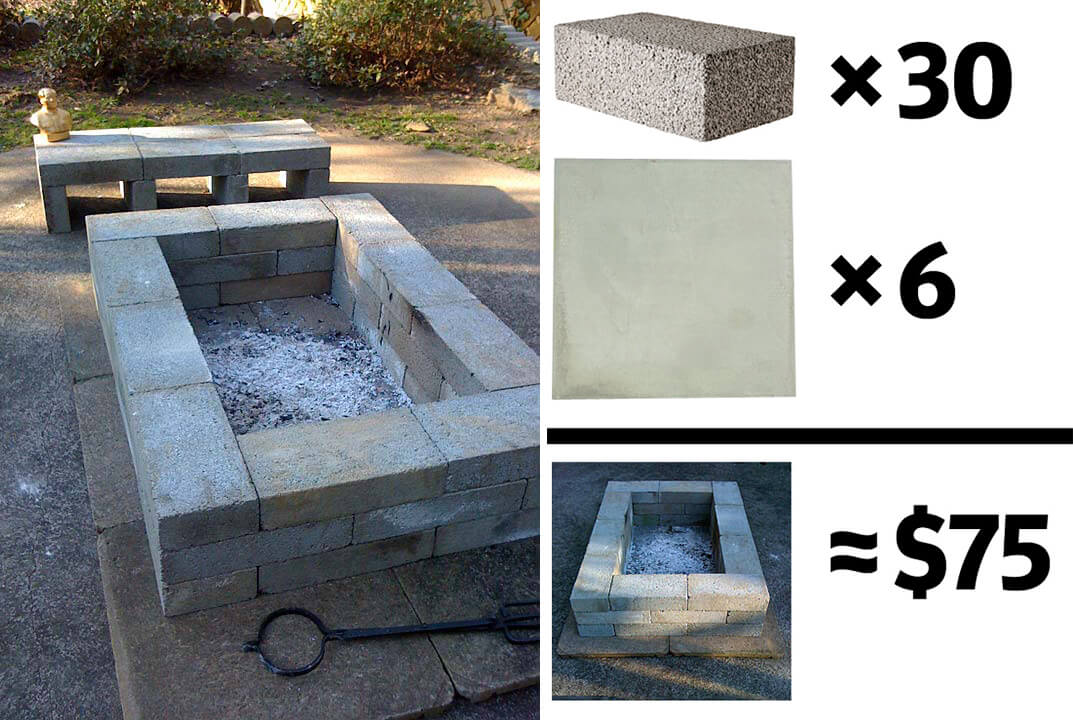 Awesome 27 Best Diy Firepit Ideas And Designs For 2019 Bralicious Painted Fabric Chair Ideas Braliciousco