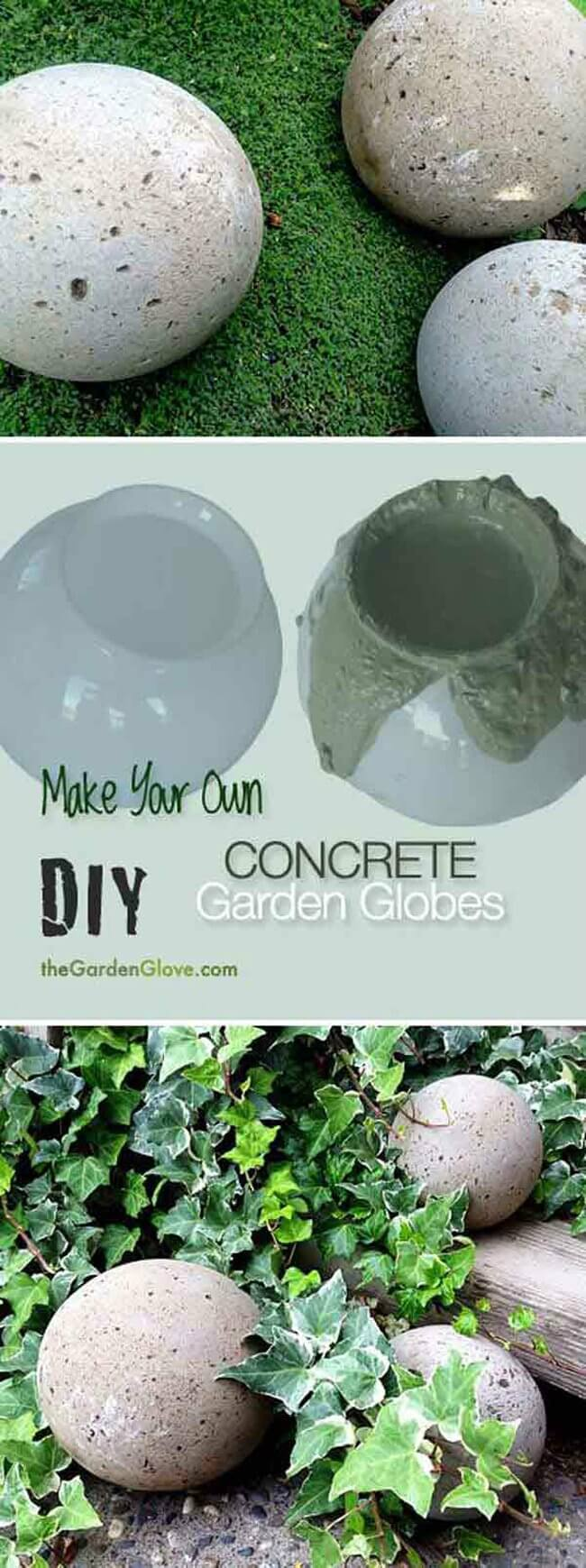 29 best diy garden crafts ideas and designs for 2017 for Homemade garden decor crafts