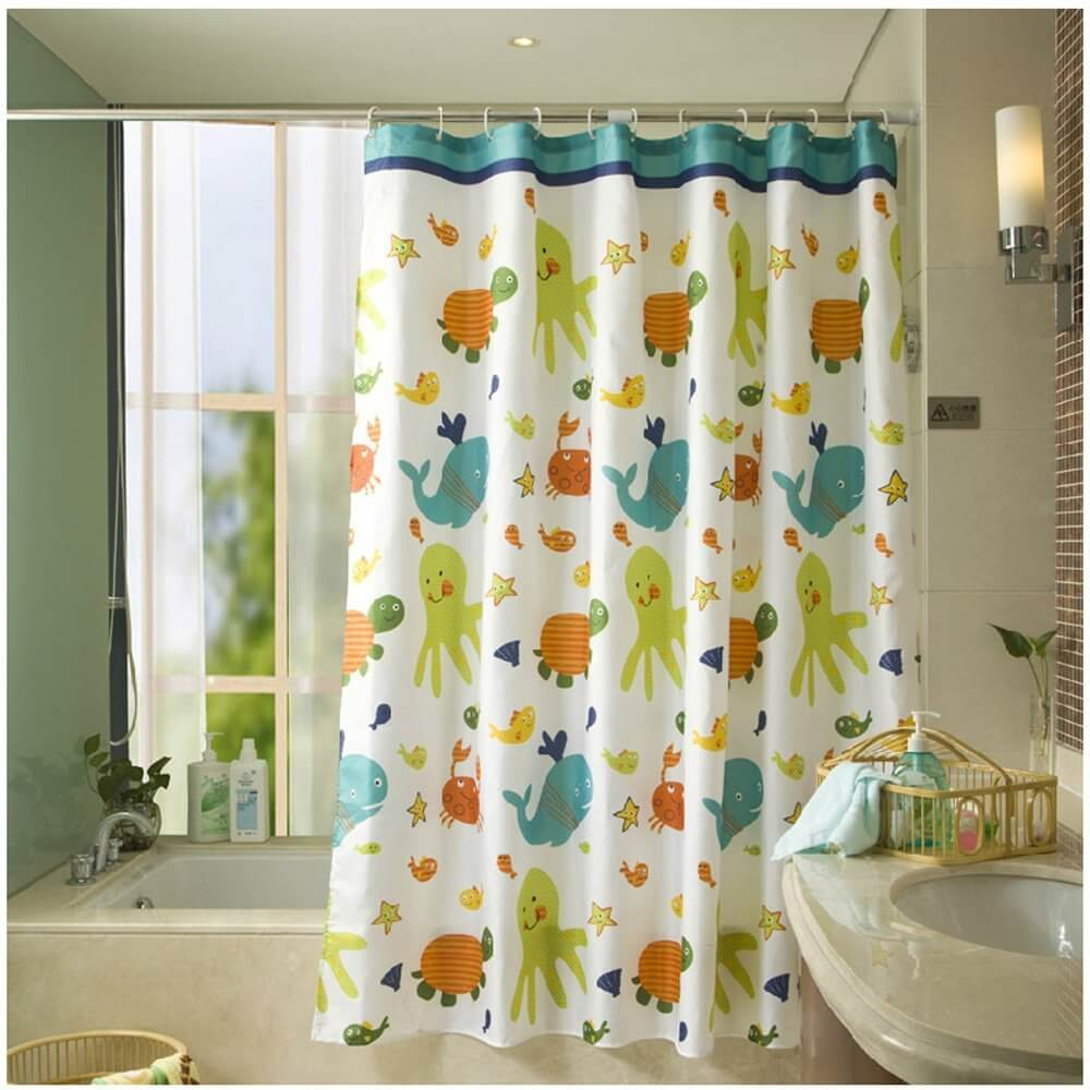 bathroom shower curtains and matching accessories - delonho