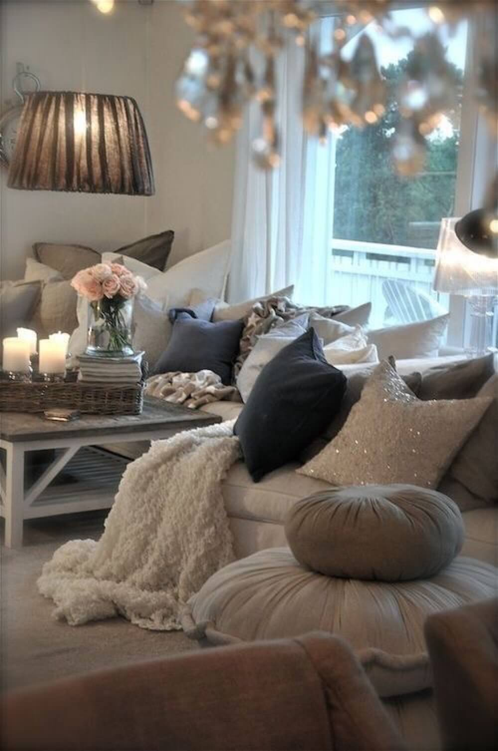 A Warm, Inviting Room With Wealth And Class