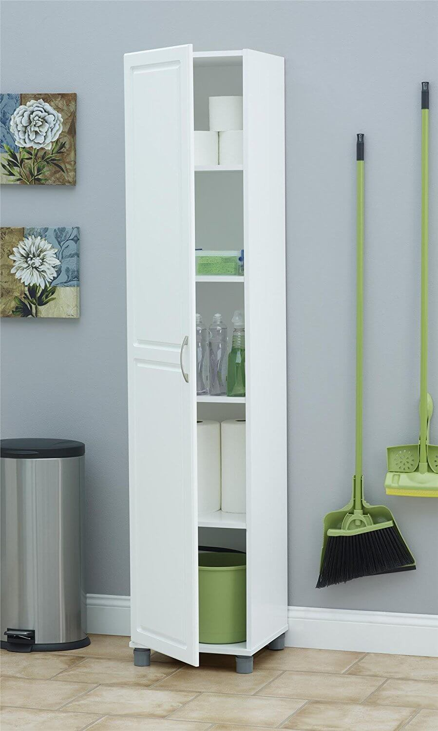 Homebnc & 26 Best Bathroom Storage Cabinet Ideas for 2019