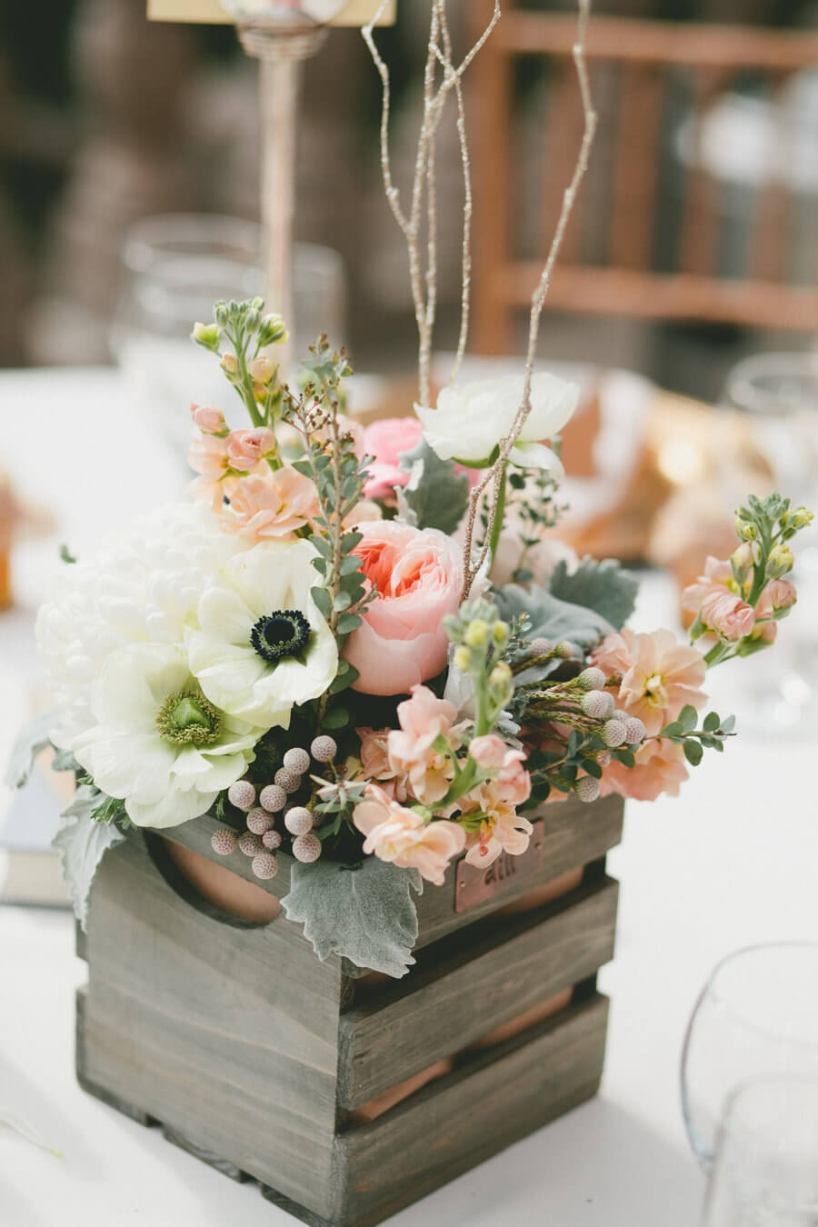 25 Best Rustic Wooden Box Centerpiece Ideas And Designs