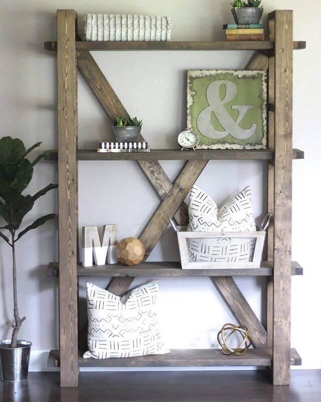 26 Trendy DIY Bookshelf Ideen, die den Raum Ihres Zuhauses optimal nutzen