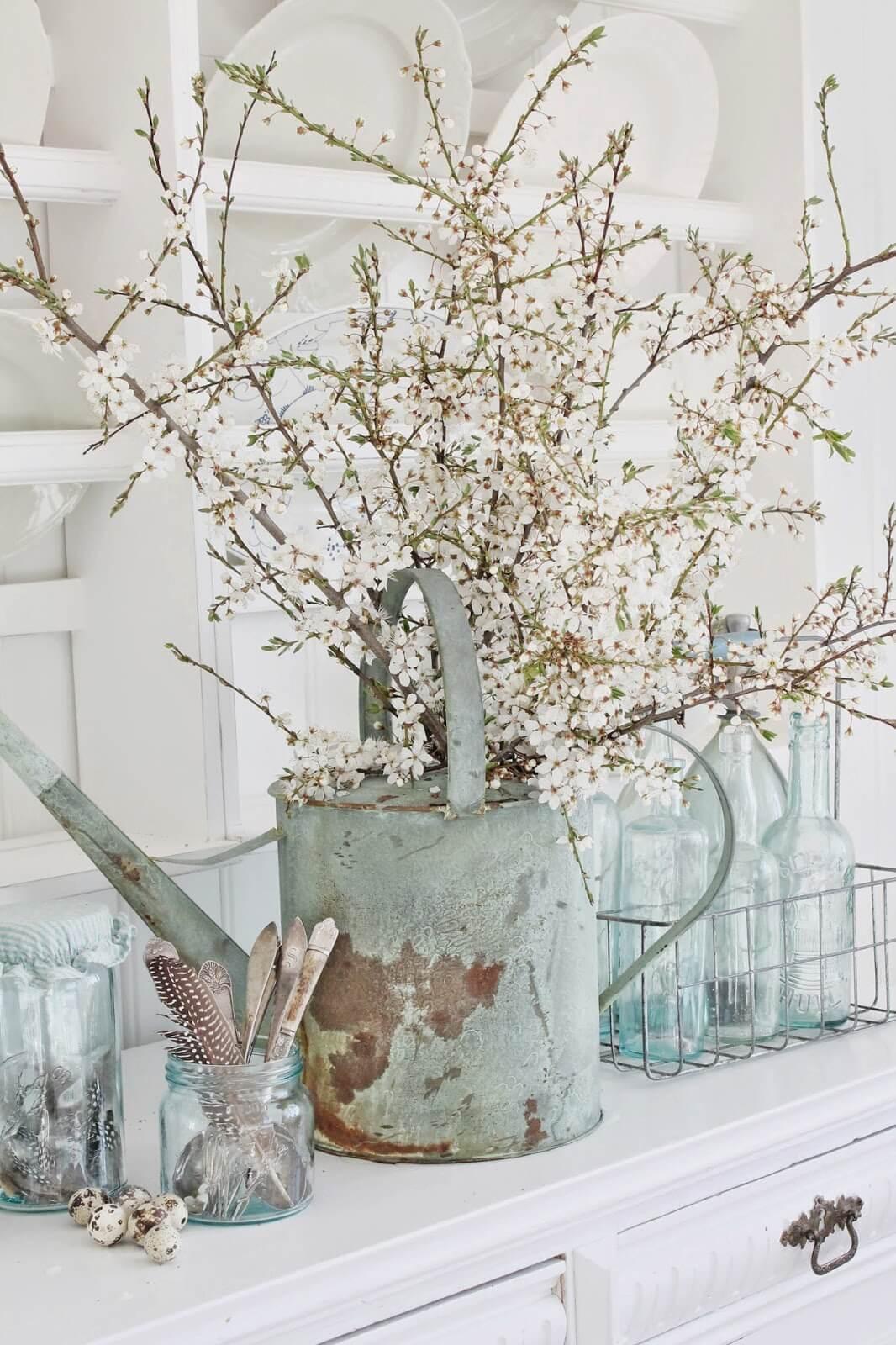 Country Kitchen Flower Arrangements