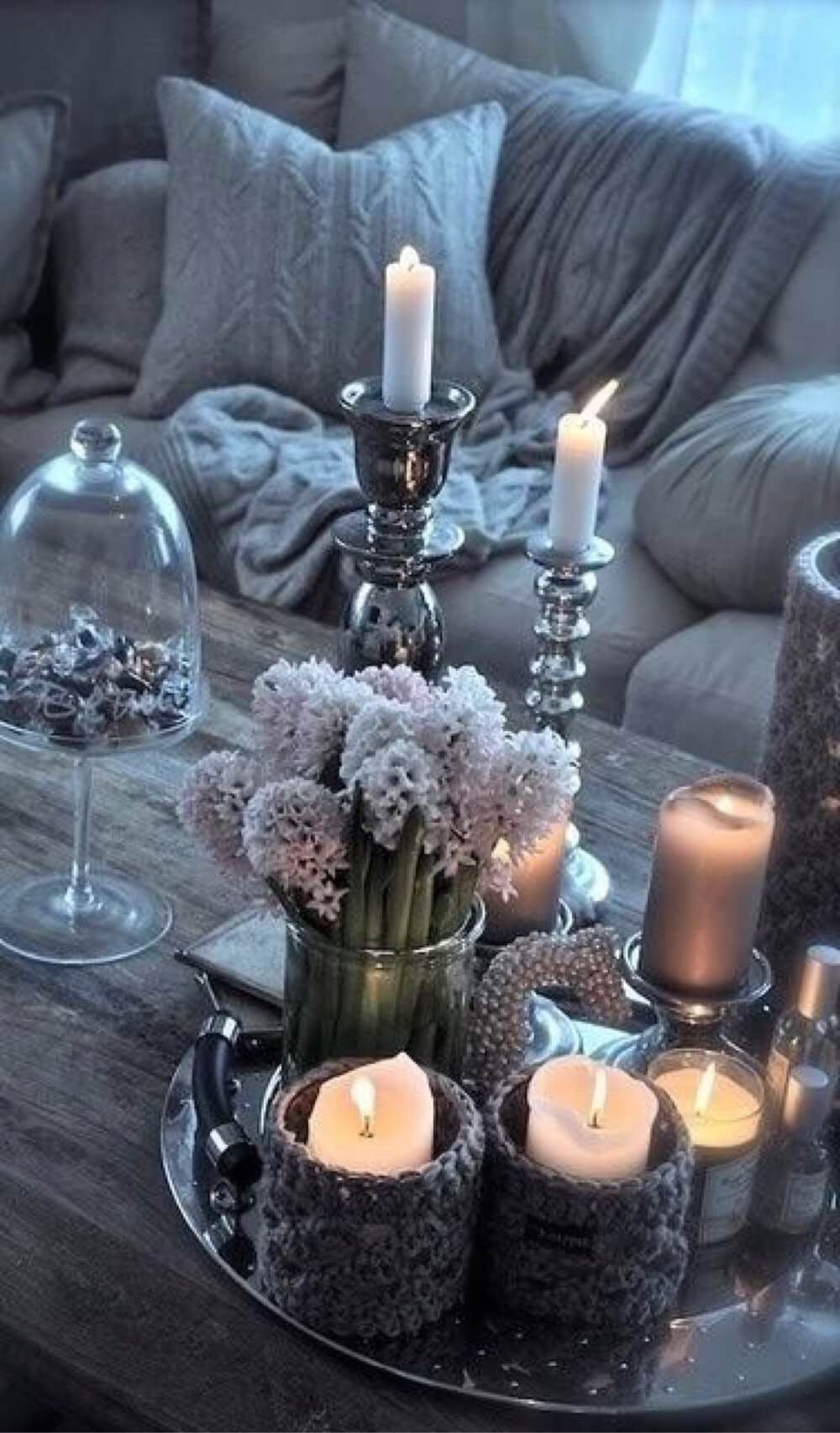 Lively and Functional Rustic Glam Decorations