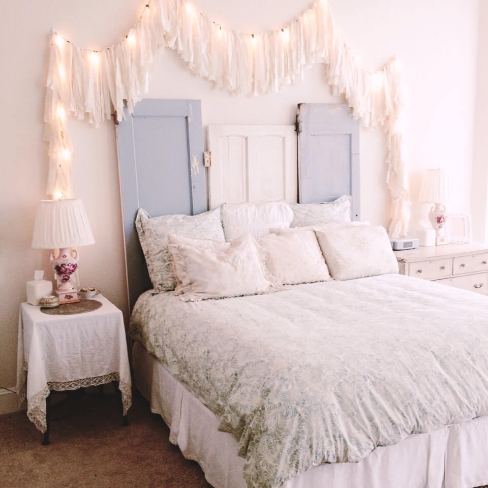 White Shabby Chic Bedroom Ideas: 35 Best Shabby Chic Bedroom Design And Decor Ideas For 2019