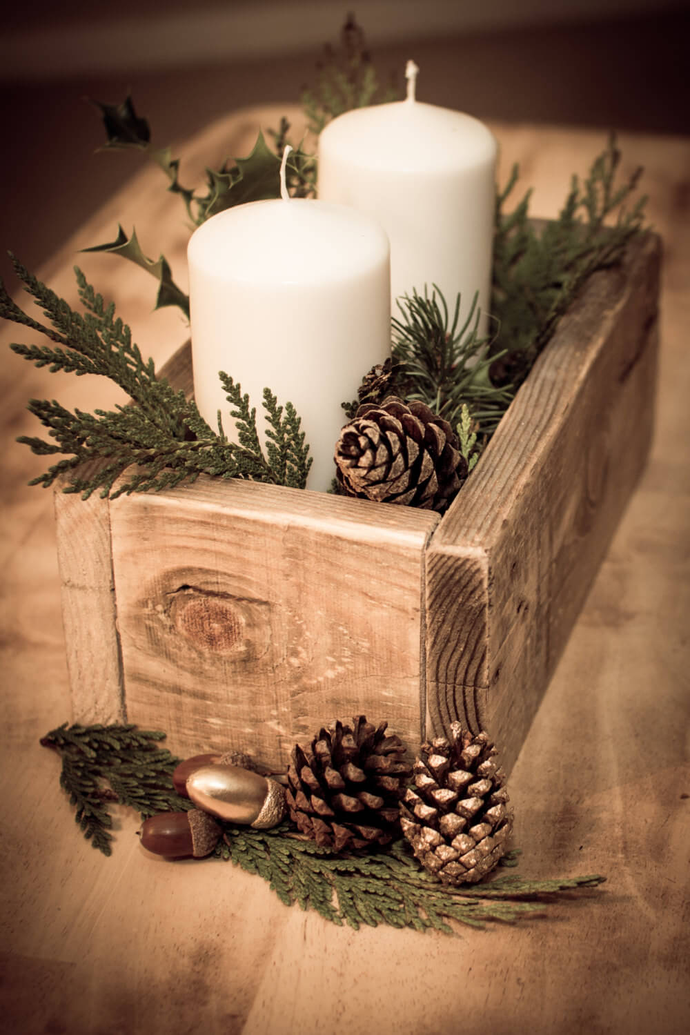50 Best Rustic Wooden Box Centerpiece Ideas And Designs For 2021