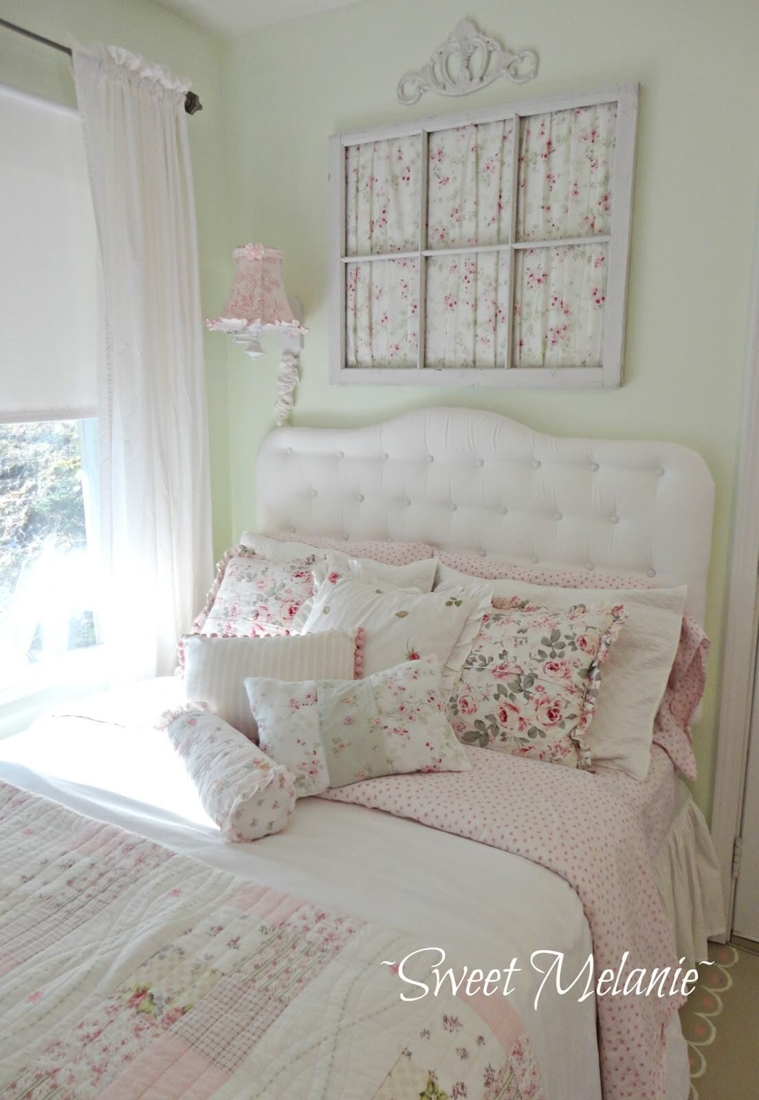 35 best shabby chic bedroom design and decor ideas for 2017 - Little girls shabby chic bedroom ...