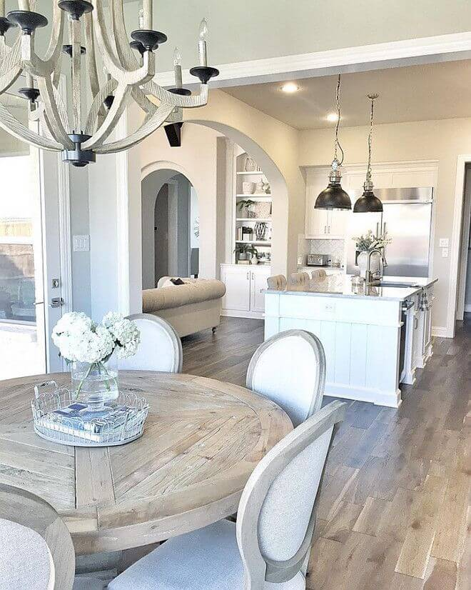 17 Charming Farmhouse Dining Room Design and Decor Ideas