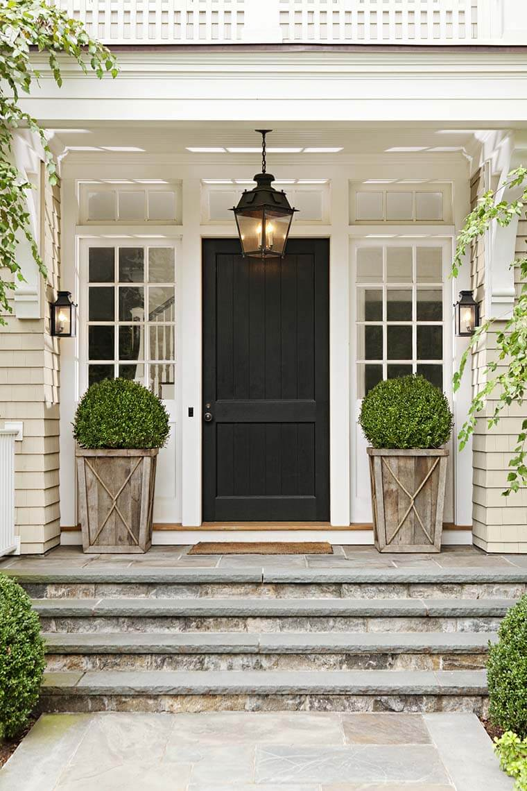 Interesting ideas for front door planters gallery ideas for Front window ideas