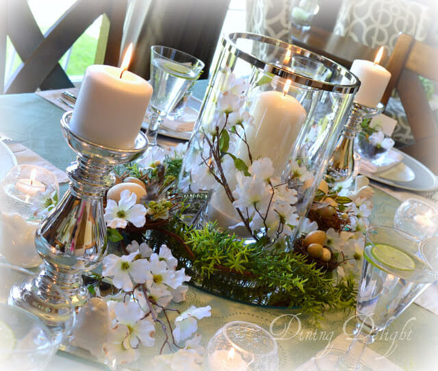 A Floral Centerpiece for Weddings and Events