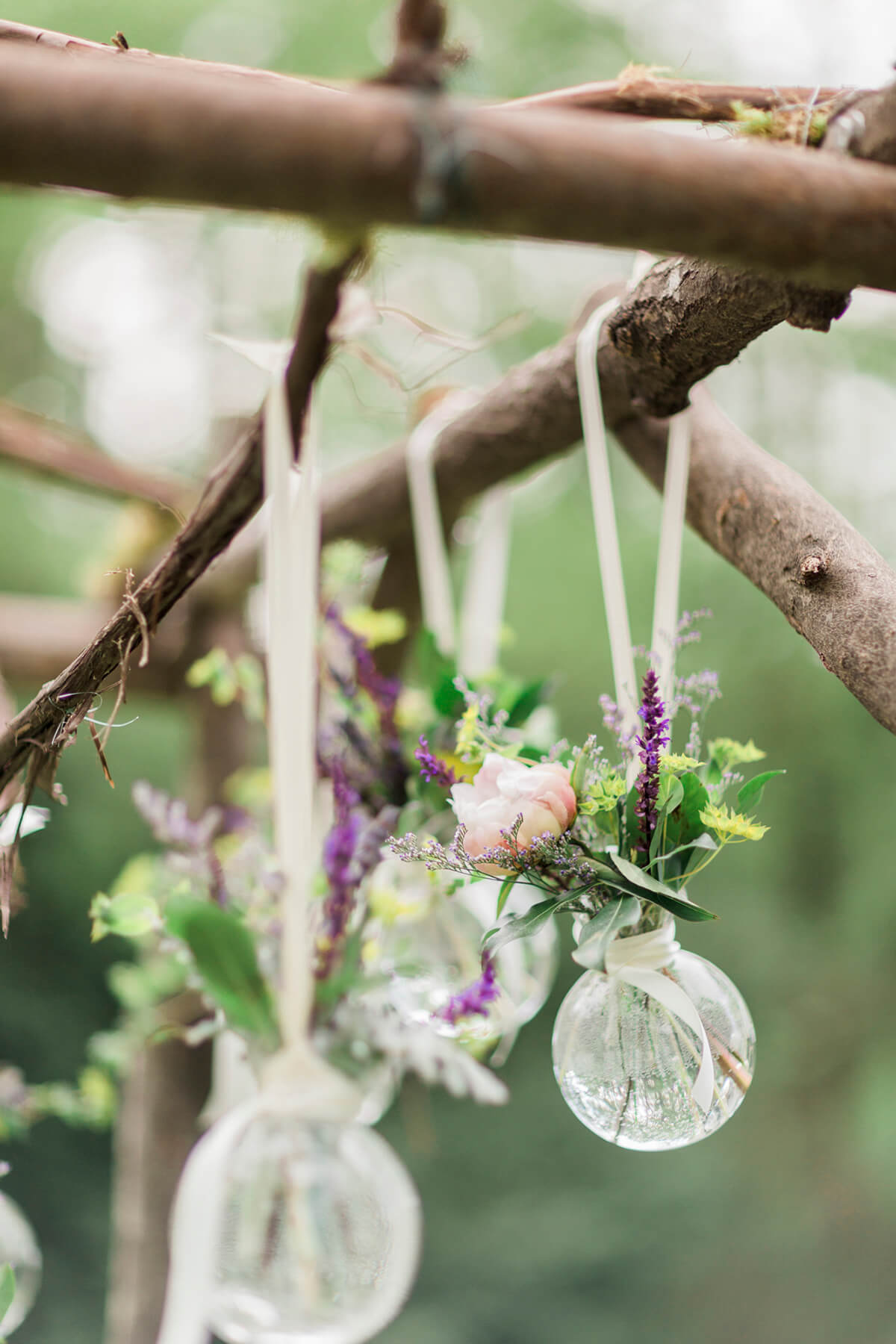 Herbal Baubles Dress Up Bare Branches