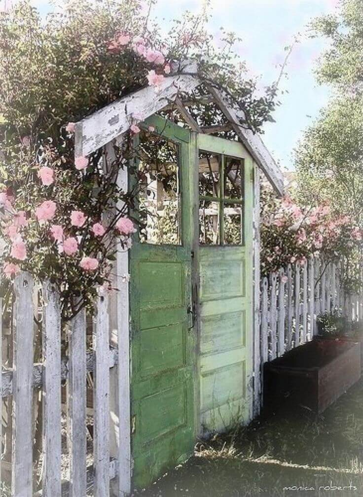 best vintage garden decor ideas and designs for, Garden idea