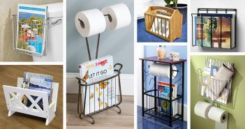 Bathroom Magazine Racks