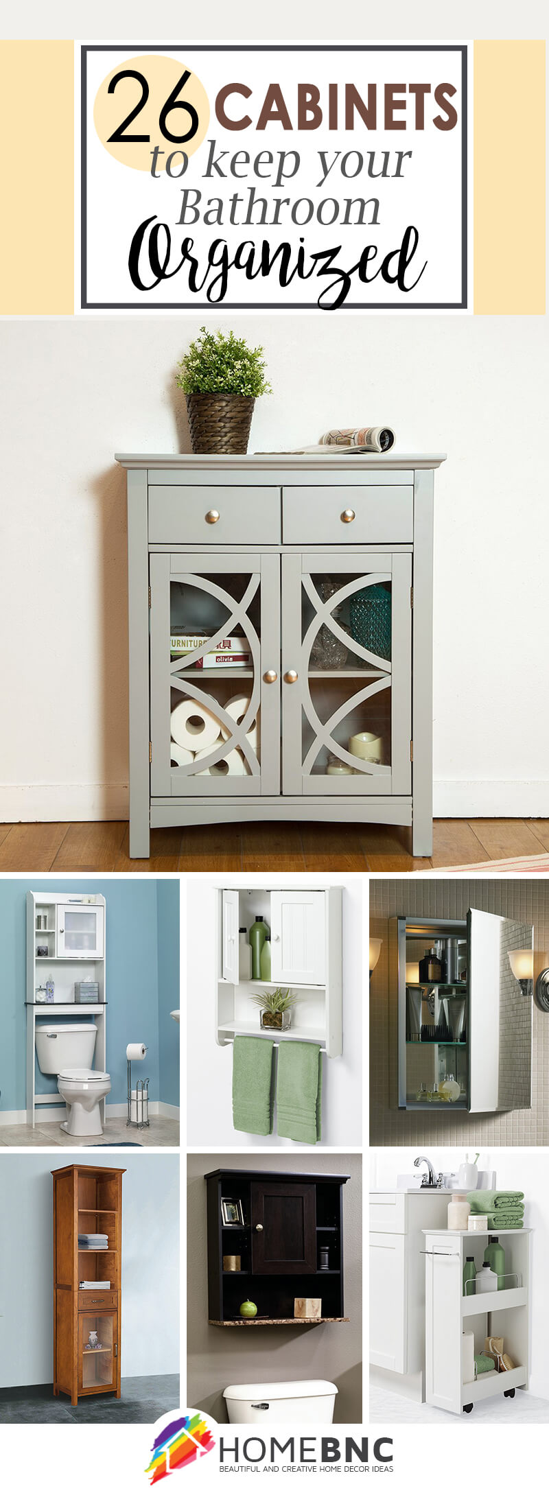 Cabinet for bathroom storage - Bathroom Storage Cabinet Ideas