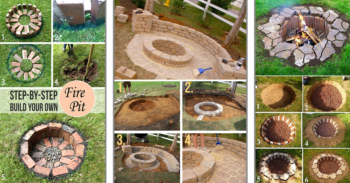 Backyard Landscaping With Fire Pit 27 best diy firepit ideas and designs for 2018