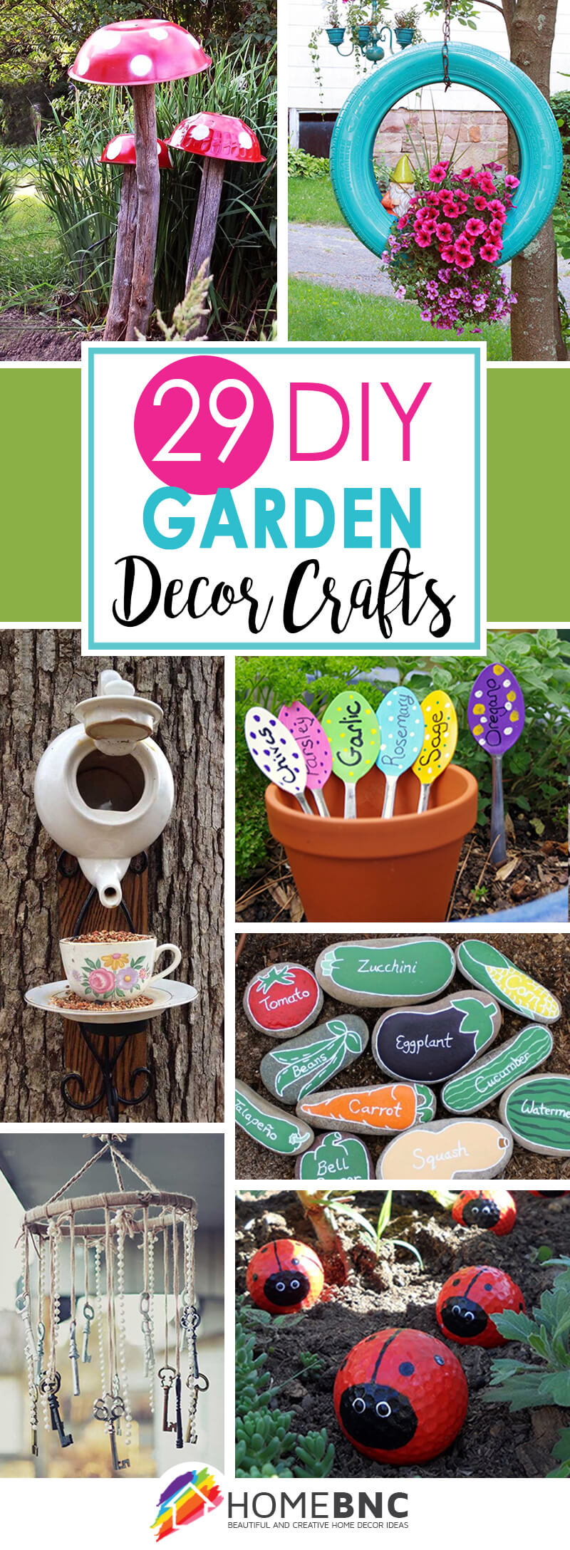 Outdoor Craft Ideas Gardens Part - 17: DIY Garden Craft Ideas