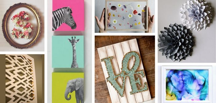 36 Best DIY Wall Art Ideas (Designs and Decorations) for 2019