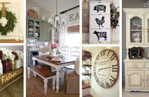 37 Timeless Farmhouse Dining Room Design Ideas   Homebnc
