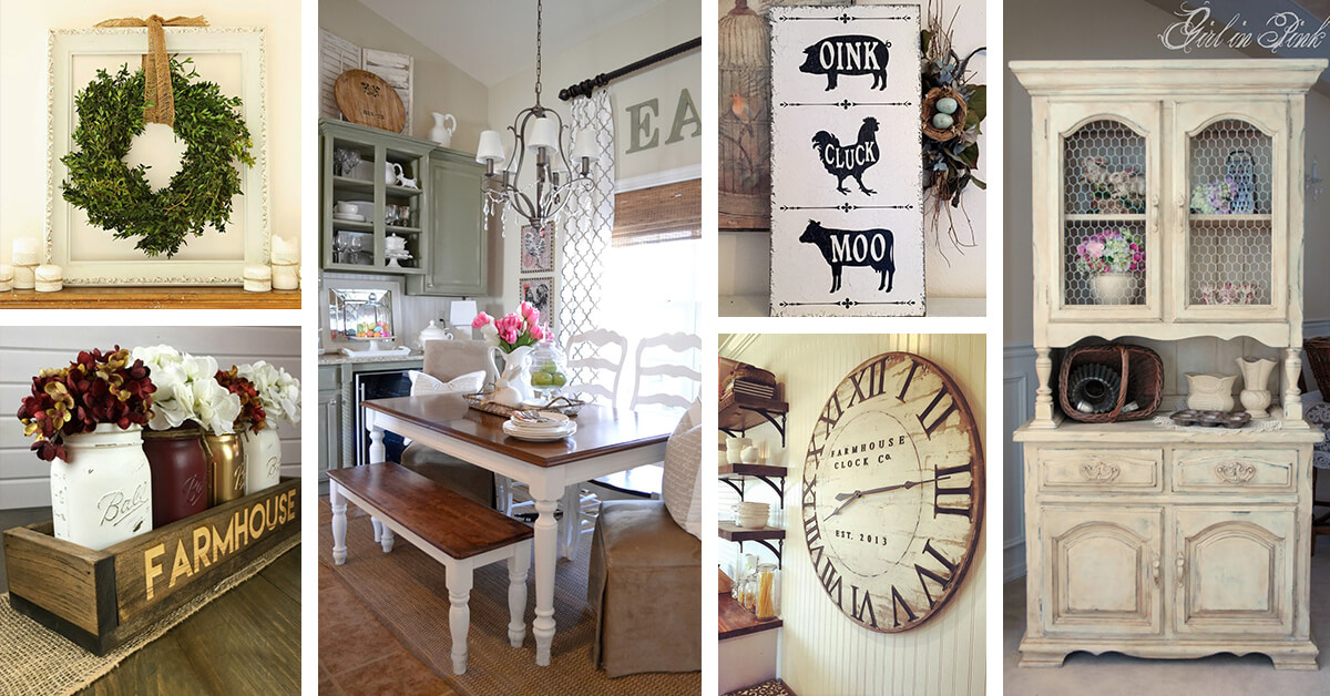 Elegant 37 Timeless Farmhouse Dining Room Design And Decor Ideas That Are Simply  Charming