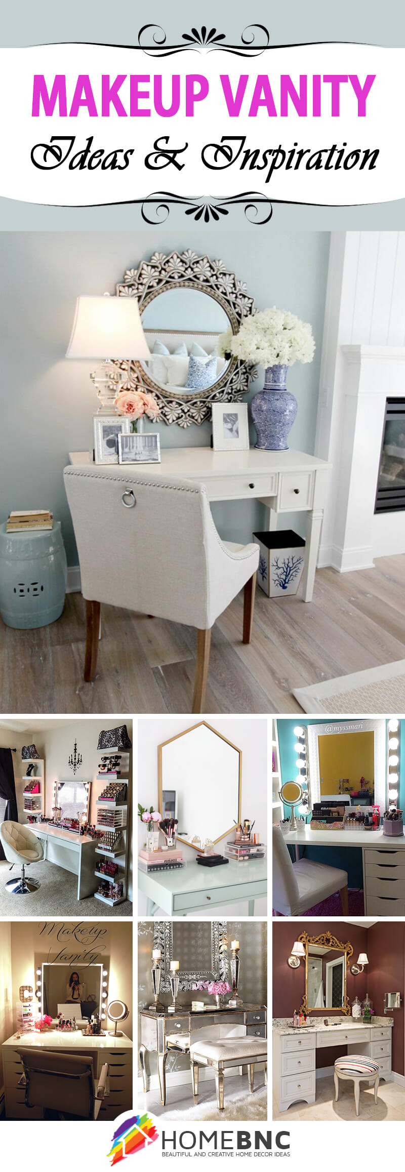 Designs for Makeup Vanity
