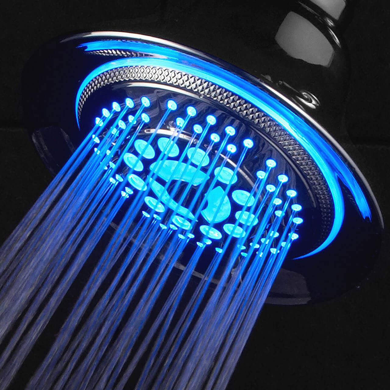 DreamSpa Fixed-mount Shower Head With 5 Water Settings