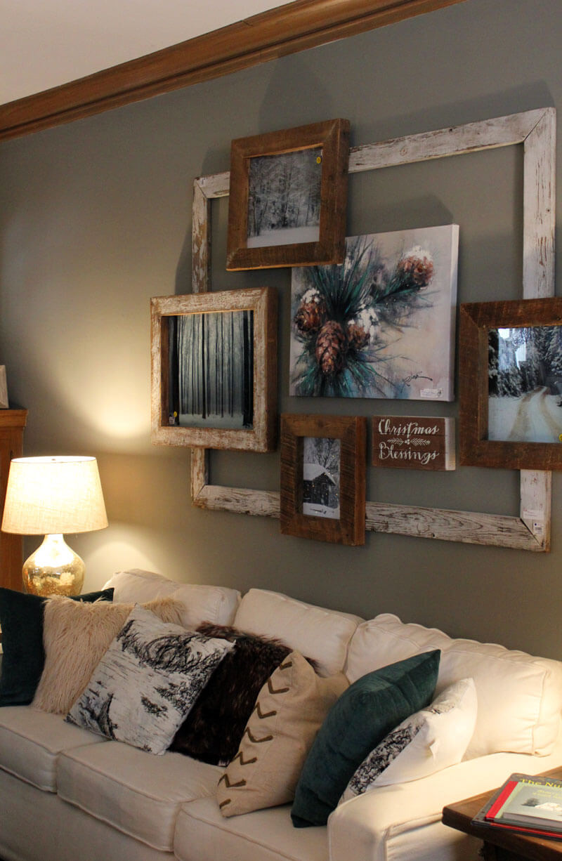 3 Best Decoration Ideas Above the Sofa for 3