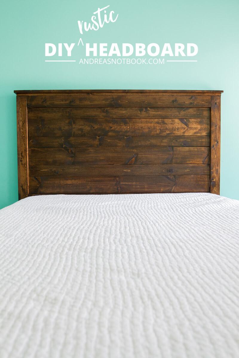 Deadwood Style Rustic Headboard