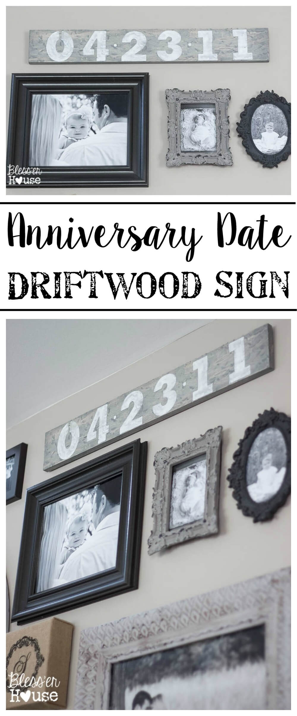 Wedding Anniversary Date Wooden Pallet