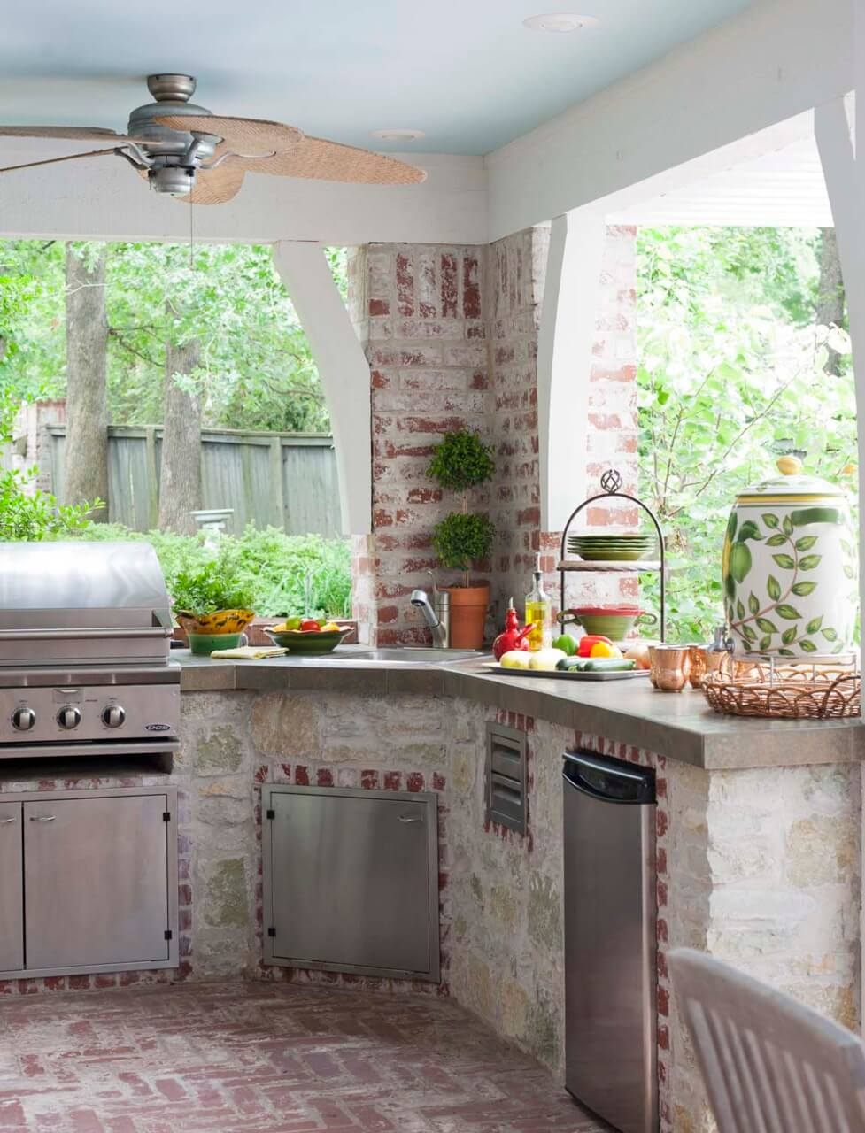 Innovative Outside Kitchen Ideas with 27 Best Outdoor
