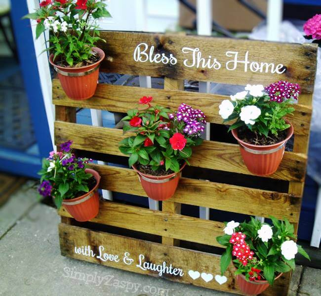 Planter From Pallet: 32 Best DIY Pallet And Wood Planter Box Ideas And Designs