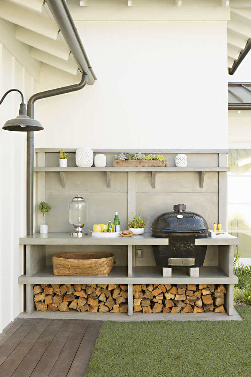 Outdoor Food Prep Station for Small Spaces