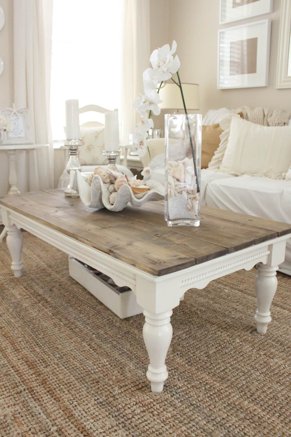 Transparent Coffee Table Images Centerpiece