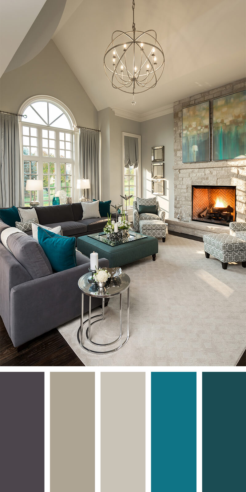 7 Living Room Color Schemes That Will Make Your Space Look Professionally Des