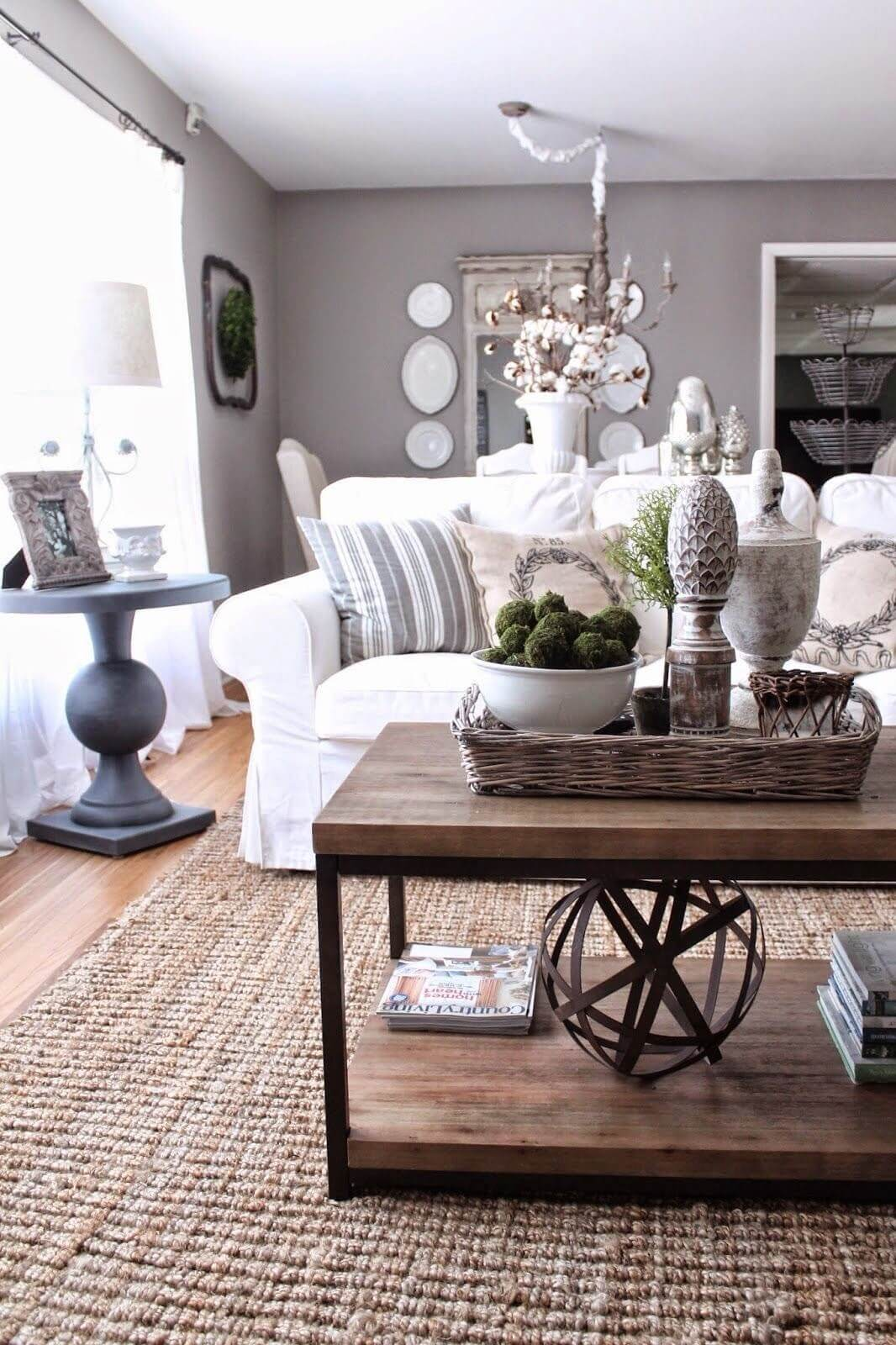 37 best coffee table decorating ideas and designs for 2017 Coffee table decorating ideas