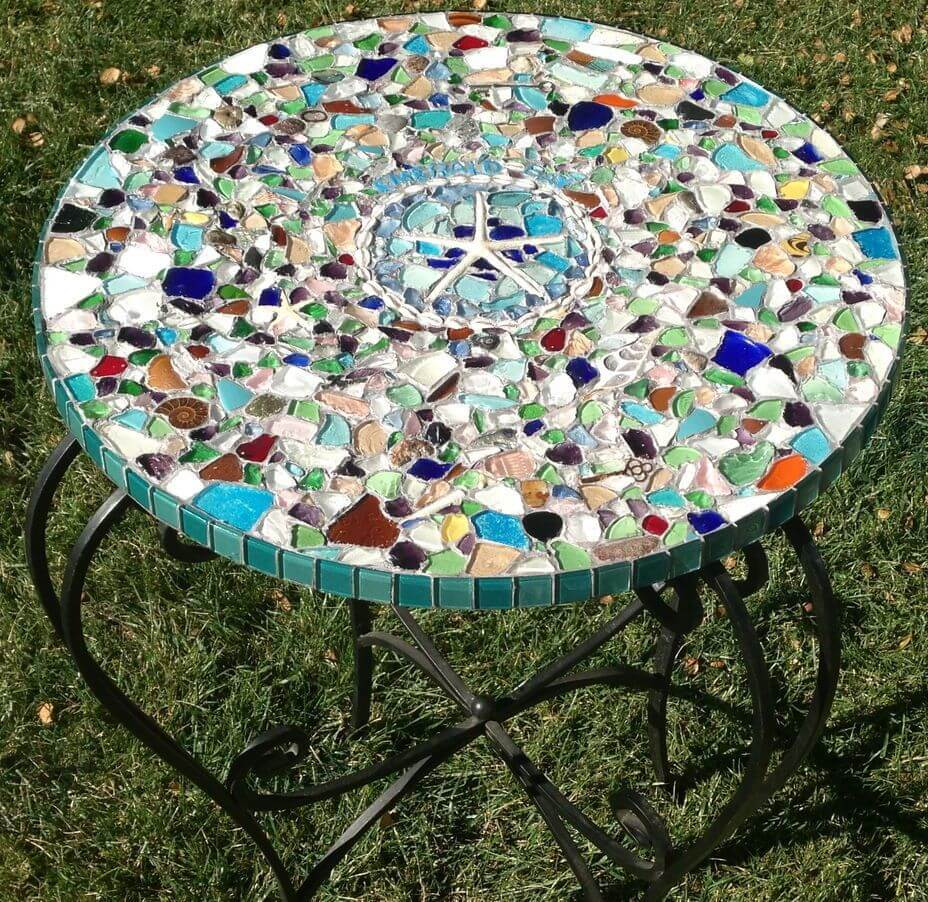 28 best diy garden mosaic ideas designs and decorations for Garden mosaics designs