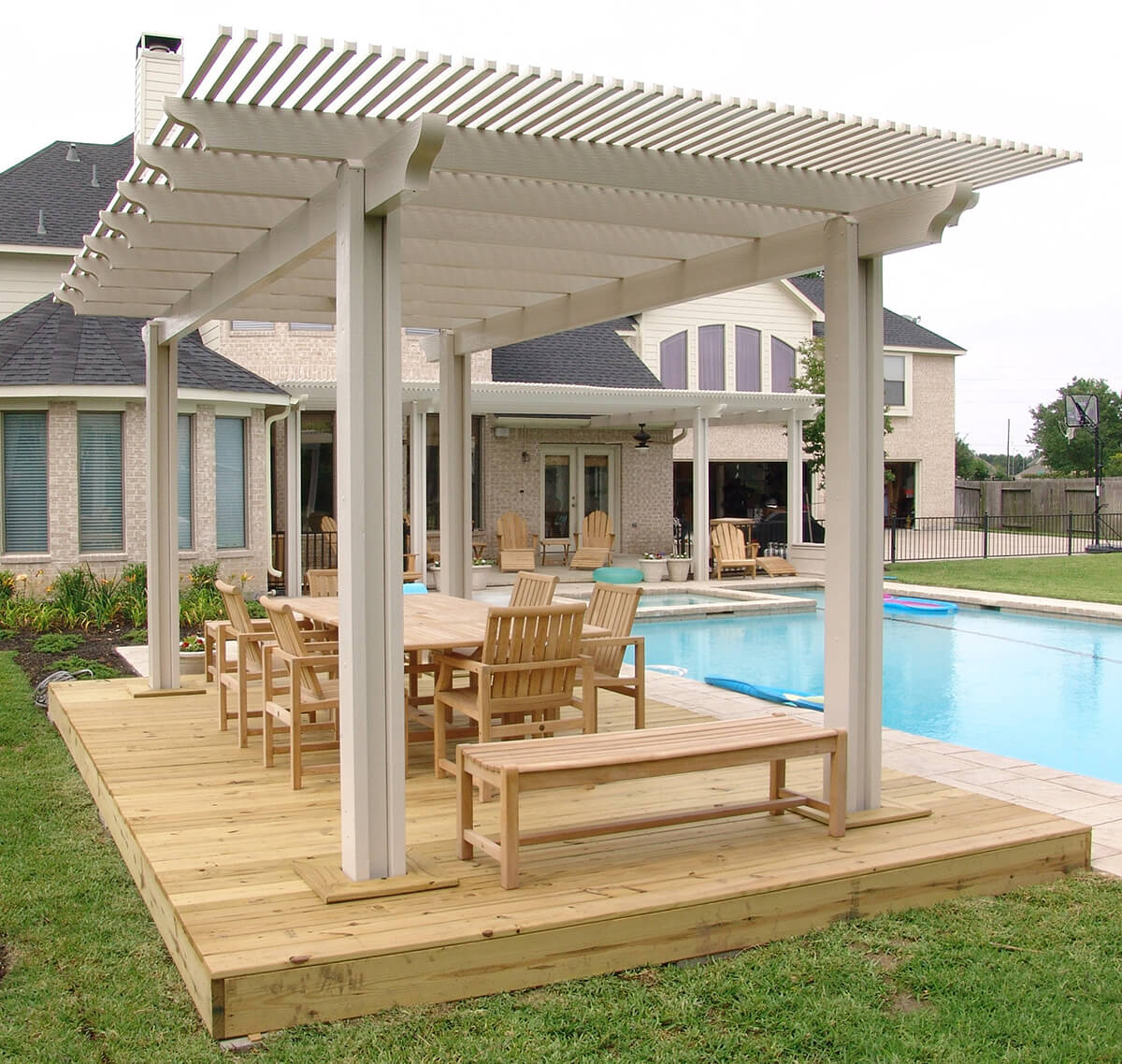 Pacific Picnic Wooden Pergola Setting - 33 Best Pergola Ideas And Designs You Will Love In 2019