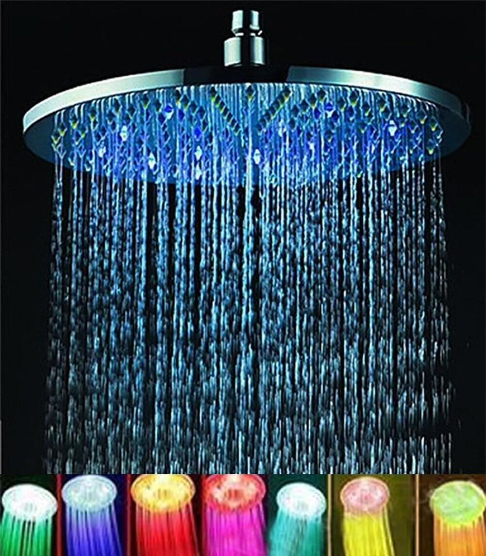 21 Best LED Shower Heads (Ideas and Designs) for 2018