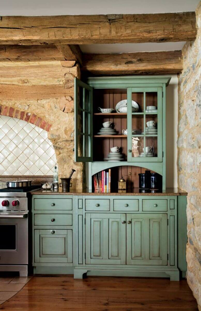27 best rustic kitchen cabinet ideas and designs for 2017 for Kitchen furniture design ideas