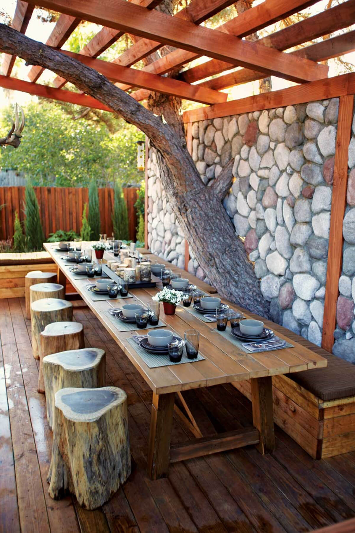 A Walk In The Woods Repurposed Wooden Pergola - 33 Best Pergola Ideas And Designs You Will Love In 2018